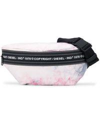 DIESEL Nelumbo Tie-dye Belt Bag - Pink