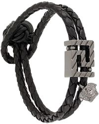 Versace Браслет Gv Greca - Черный