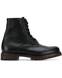 Church's Classic Lace-up Boots - Black