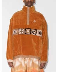 STORY mfg. Polite オーガニックコットン セーター - オレンジ