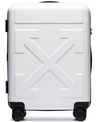 Off-White c/o Virgil Abloh For Travel Trolley Bag - White