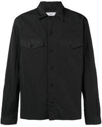 AMI Рубашка С Нагрудными Карманами - Черный