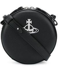 Vivienne Westwood ロゴ ショルダーバッグ - ブラック