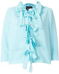 Boutique Moschino | Cady Bow Jacket | Lyst