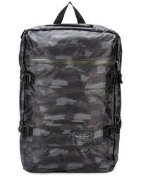 Eastpak Sac à dos à motif camouflage - Noir