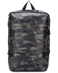 Eastpak Abstract Camouflage-print Backpack - Black