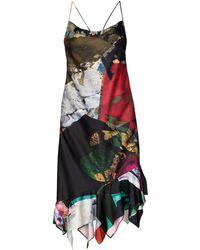 Marques'Almeida - Robe à effet patchwork - Lyst