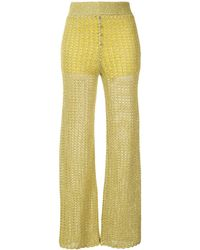 Alice McCALL Coney Island Trousers - Yellow