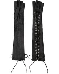 Manokhi - Long Laced Gloves - Lyst
