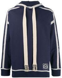 Loewe - Sweater Met Capuchon - Lyst