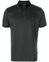 Calvin Klein | Embroidered Logo Polo Shirt | Lyst