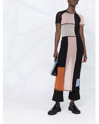 McQ - カラーブロック ドレス - Lyst