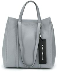 """Marc Jacobs Cabas """"The Tag Tote 27"""" - Gris"""