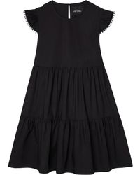 Marc Jacobs Платье Свободного Кроя - Черный