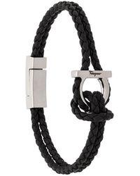 Ferragamo - Armband mit Gancini-Detail - Lyst