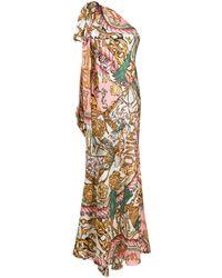 Moschino Vestito monospalla - Multicolore