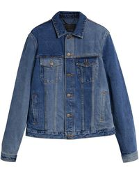 Burberry - Two-tone Jacket - Lyst