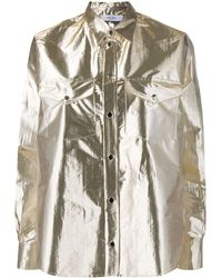 Roseanna Spell Reflection Shirt - Metallic