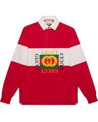 Gucci - ロゴ ポロシャツ - Lyst