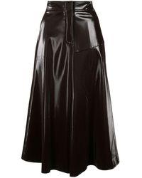Goen.J フレアスカート - ブラック