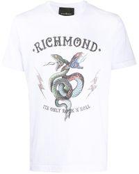 John Richmond - プリント Tシャツ - Lyst
