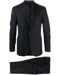 Polo Ralph Lauren ストライプ ツーピース スーツ - ブルー
