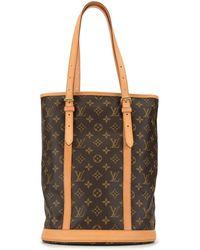 Louis Vuitton 2001 Pre-owned Bucket Gm Shoulder Bag - Brown