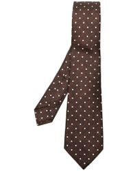 Kiton - Dotted Tie - Lyst