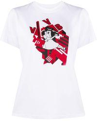 Victoria, Victoria Beckham Dancing Tシャツ - ホワイト