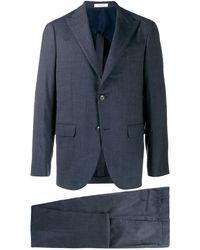 Boglioli Two Piece Suit - Blue