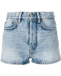 Acne Studios - Denim Shorts - Lyst