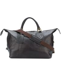 Barbour Bolso tote Travel Explorer - Marrón