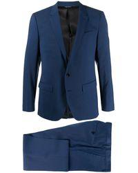 Dolce & Gabbana Строгий Костюм-двойка - Синий