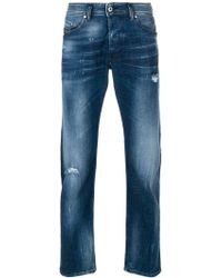 DIESEL - Belther Straight-leg Jeans - Lyst