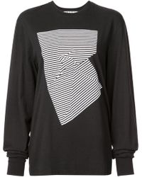 Proenza Schouler - Abstract Graphic T-shirt - Lyst