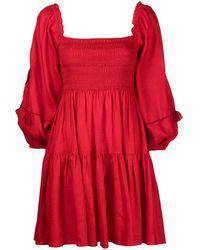 Sachin & Babi Vestido Lola - Rojo