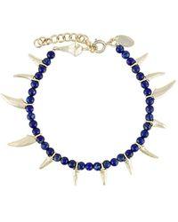 Iosselliani - Be Nomad Lapis Bracelet - Lyst