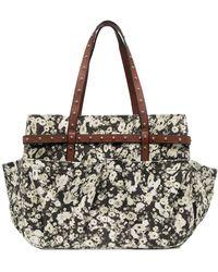 Dorothee Schumacher Floral Print Shoulder Bag - Black