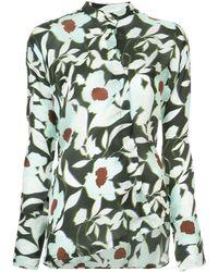 Christian Wijnants Floral Print Shirt - Groen