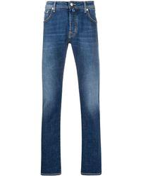 Jacob Cohen Mid-rise Slim Fit Jeans - Blue