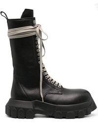 Rick Owens Ботинки Bozo Tractor - Черный