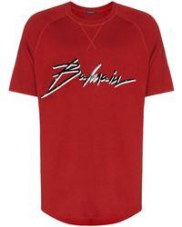 Balmain - ロゴ Tシャツ - Lyst