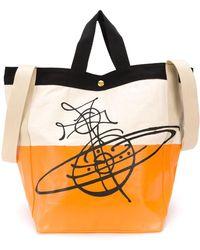 Vivienne Westwood Сумка-тоут В Стиле Колор-блок С Логотипом - Многоцветный