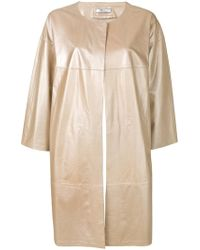 DESA NINETEENSEVENTYTWO - Oversized Leather Coat - Lyst