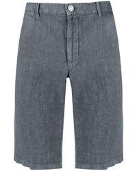 Kiton Knee-length Chino Shorts - Grey