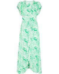 Melissa Odabash Bria ラップドレス - グリーン