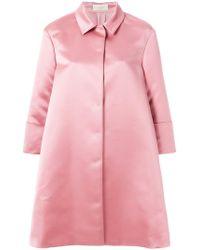 Sara Battaglia   Oversized Coat   Lyst