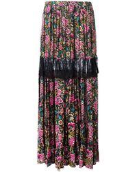 N°21 | Floral Print Maxi Skirt | Lyst