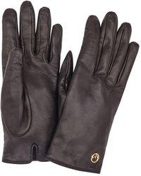 Fendi Перчатки С Логотипом - Черный