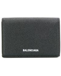 Balenciaga ビル ミニウォレット - ブラック